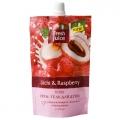 """Крем-Гель для душа """"Litchi & Raspberry"""" 200 мл """"Fresh Juice"""" косметика Эльфа (содержит 33% увлажняющего молочка)"""