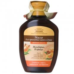 Масло для ванн и душа МАНДАРИН, КОРИЦА, 250мл. Зеленая аптека (арт.09193004.5) (Заказ от 3 штук)