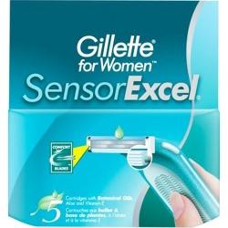 Кассеты Gillette SENSOR EXCEL 5шт. для женщин Procter&Gamble