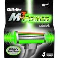 Кассеты Gillette М3 POWER 4шт.  Procter&Gamble