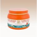 Маска для волос с морковным маслом с лечебной грязью для сухих и окрашенных волос 250мл H&B Израиль (арт.43298)